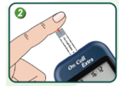 On Call Extra Glucosemeter - Instructions - Step 2