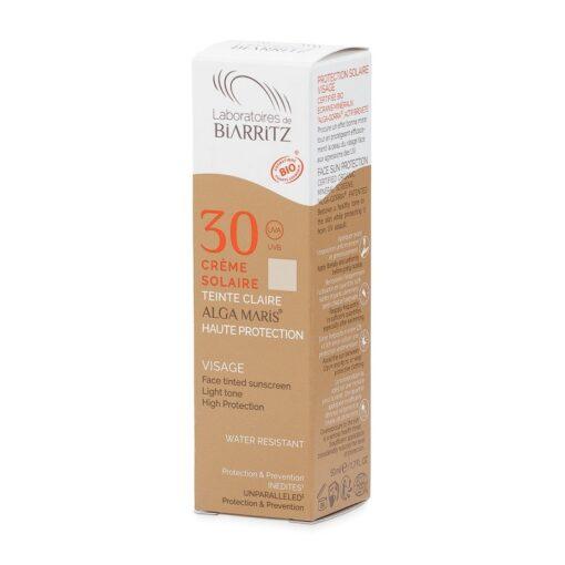 Alga Maris Organic Tinted Face Sunscreen SPF30 (Golden) 50ml