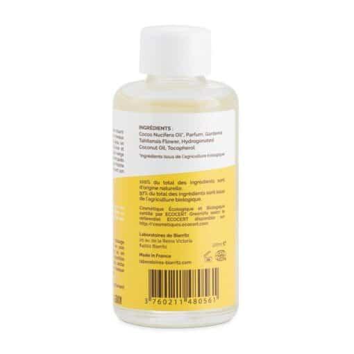Océane Organic Monoï Oil Vanille 100ml Rear