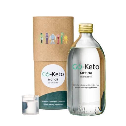 Go-Keto Huile Supérieure MCT C8 C10 de coco 500ml