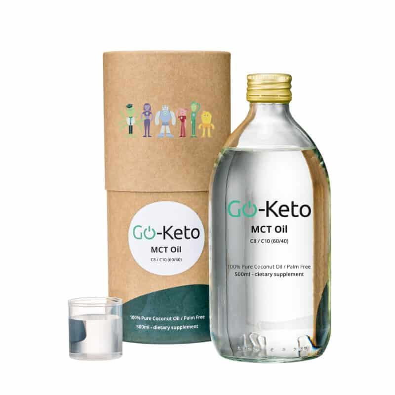 Go-Keto Premium Coconut MCT Oil C8 / 10 (60%/40%)