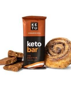 Perfect Keto - Keto Bars Cinnamon Roll