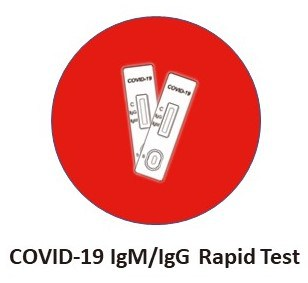 COVID-19 rapid test strips