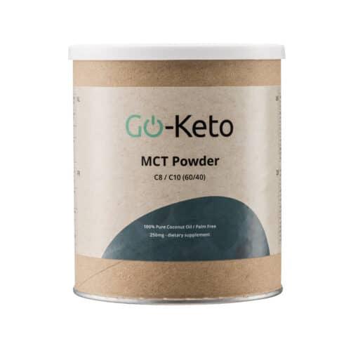 Go-Keto Premium MCT Powder (C8/C10) 60/40 front
