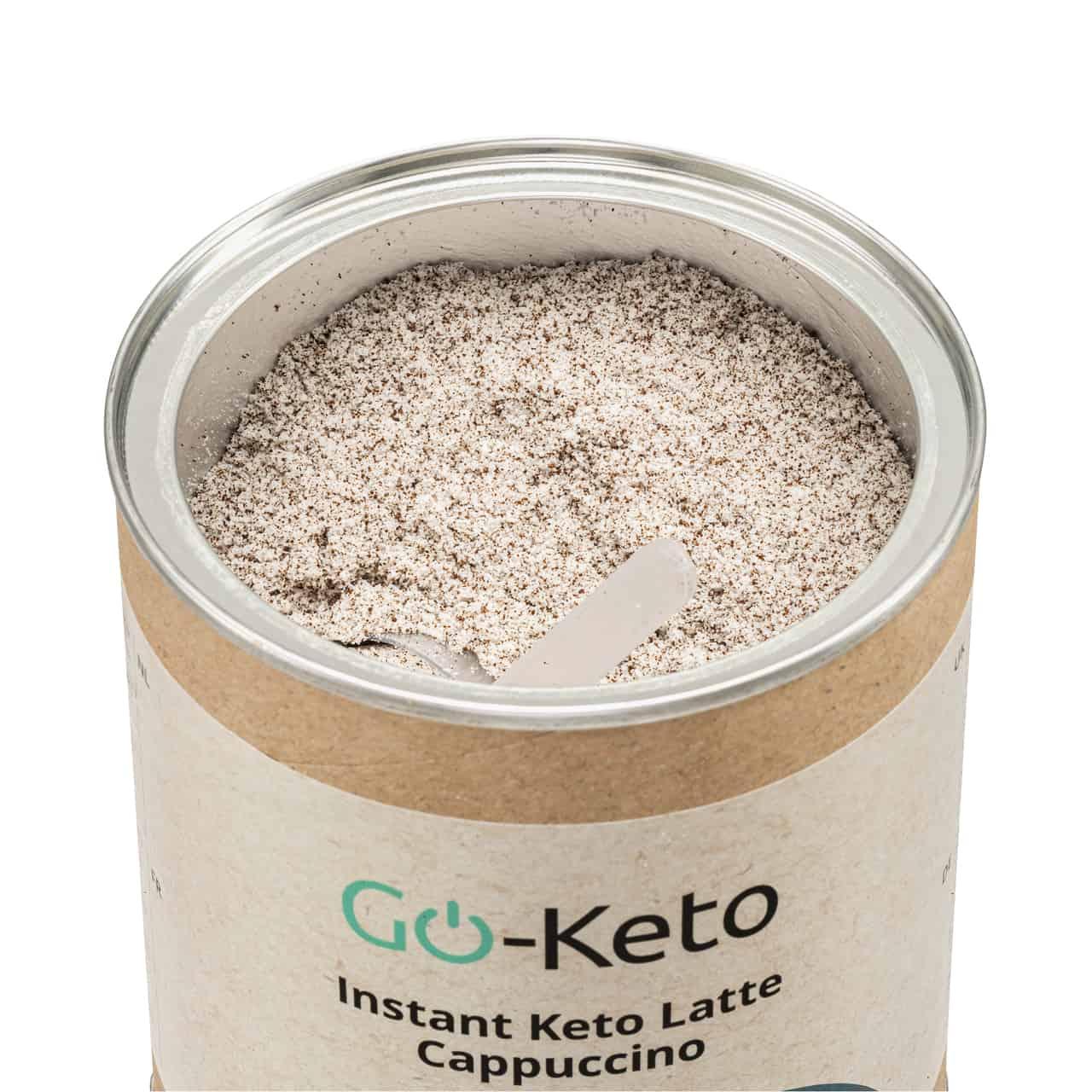 Go-Keto Instant Keto Latte Cappuccino (60/40)