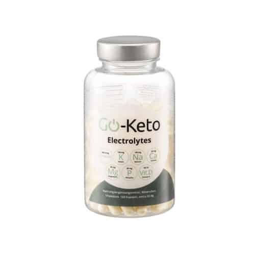 Go-Keto Premium Electrolytes 120 capsules front