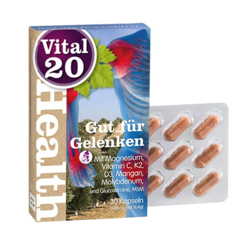 Güt fur Gelenken - Good for Joints with Glucosamine and Vitamine D