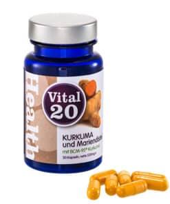 Vital20 Kurkuma Mariendistel BCM95