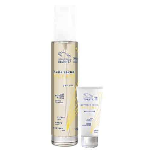 Oceane - Organic Dry Oil + Body Scrub Promo Pack