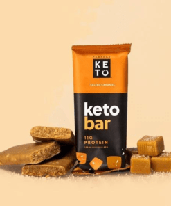 Perfect Keto - Keto Bars Salted Caramel