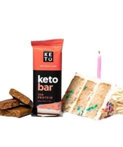 Perfect Keto - Keto Bars Birthday Cake