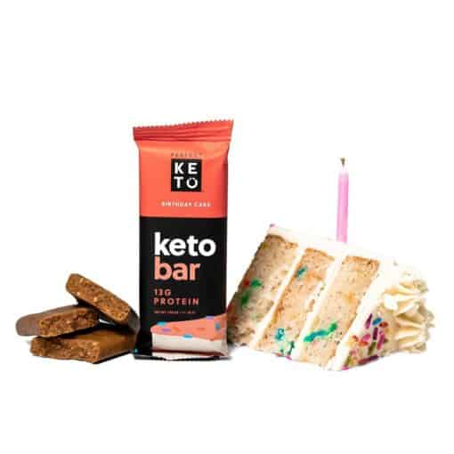 Perfect Keto - Keto Bars Birthday Cake