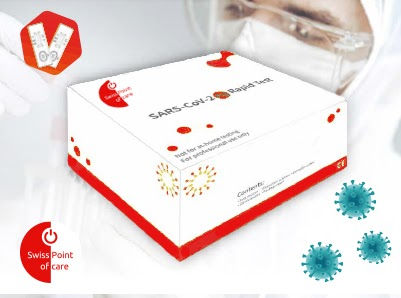 Covid-19 Antigen Rapid Swab Test Box