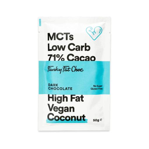 Funky Fat Foods - Keto Chocolate Coconut Bar