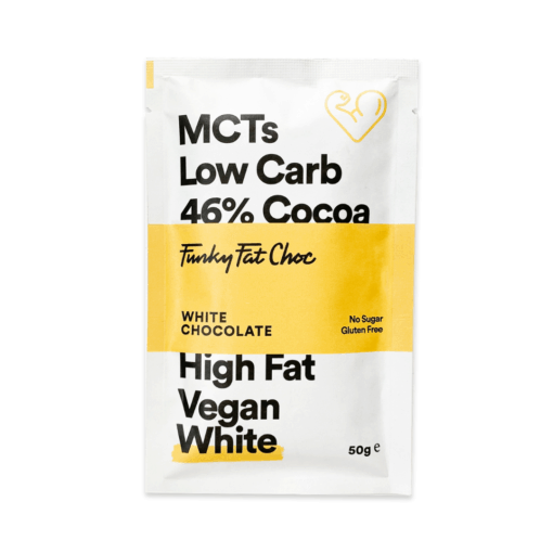 Funky Fat Foods - Keto White Chocolate Bar