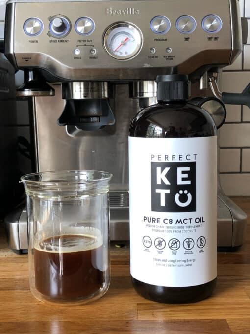 Perfect Keto - MCT Olie C8 - Bulletproof Coffee