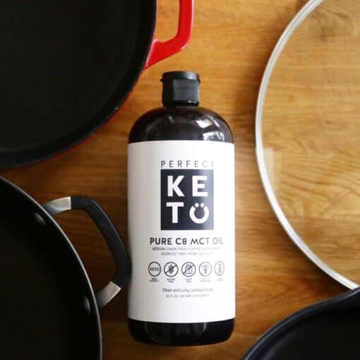 Perfect Keto - MCT Olie C8 - Koken