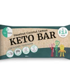 Go-Keto Bar – Hazelnut, Cocos, Lemon (12x)