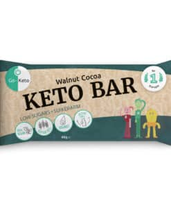 Go-Keto Bar – Walnut, Cocoa (12x)