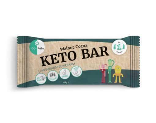 Go-Keto Bar – Walnut, Cocoa (12x)