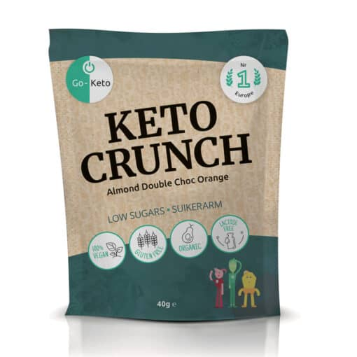Go-Keto Crunch – Almond Orange (10x)