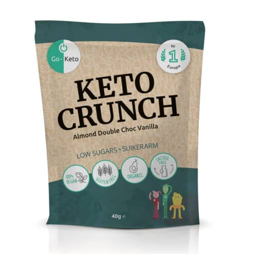 Go-Keto Crunch – Almond Vanilla Sea Salt (10x)