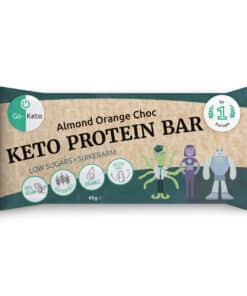 Go-Keto Proteine Bar – Orange Choc with Almonds (16x)