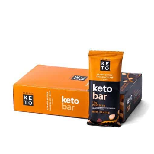 Perfect Keto Bars - Peanut Butter 12 Bars Pack